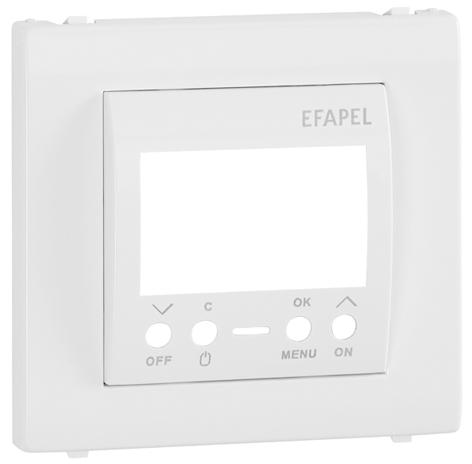 Enjoliveur pour Interrupteur Horaire Digital de 1 Circuit