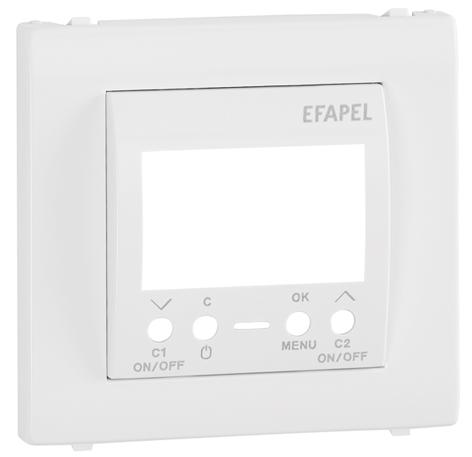 Enjoliveur pour Interrupteur Horaire Digital de 2 Circuits