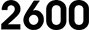 Serie 2600